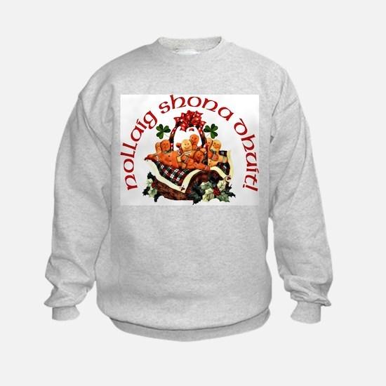 Gaelic Greetings Gingerbread Sweatshirt