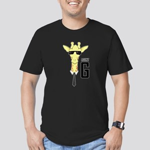 Agent G Men's Fitted T-Shirt (dark)