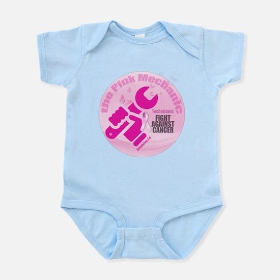 The Pink Mechanic Master Logo Infant Bodysuit