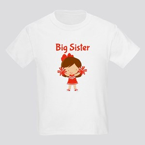 Cheerleader Big Sister Kids T-Shirt