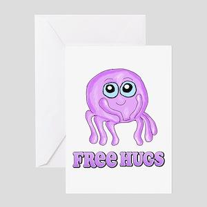 Cute octopus Greeting Card