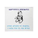 Barrett's Blankets Throw Blanket