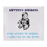 Barrett's Blankets Throw Blanket