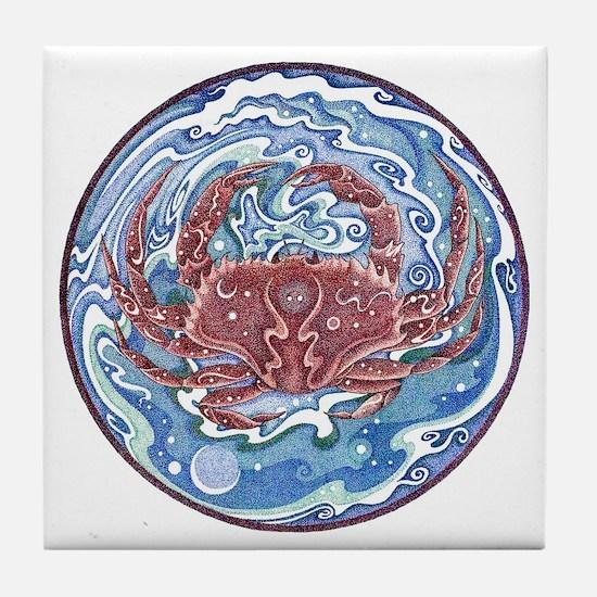 Crab Tile Coaster