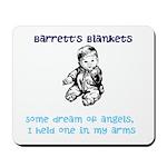 Barrett's Blankets Mousepad