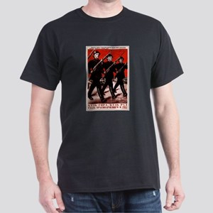Red Army CCCP Black T-Shirt