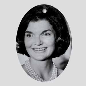 Jackie Kennedy Ornament (Oval)