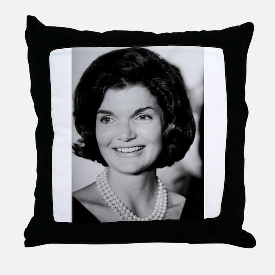 Jackie Kennedy Throw Pillow