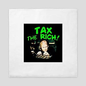 Tax the Rich! Queen Duvet