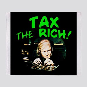Tax the Rich! Throw Blanket