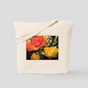 Summer Roses Tote Bag
