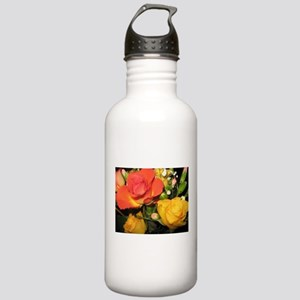 Summer Roses Stainless Water Bottle 1.0L