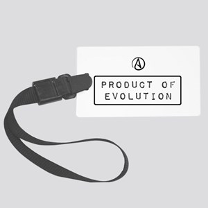 Product of Evolution Large Luggage Tag