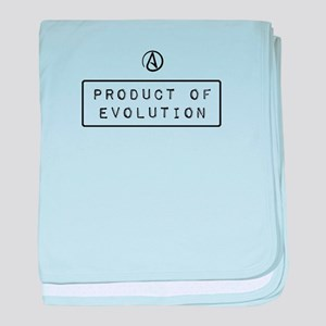 Product of Evolution baby blanket