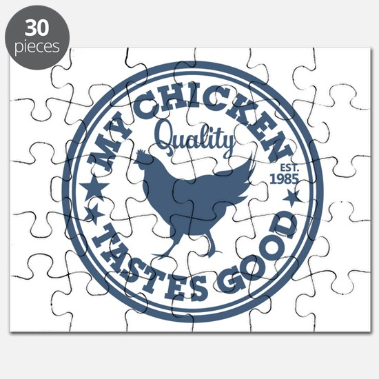 My Chicken Tastes Good Puzzle