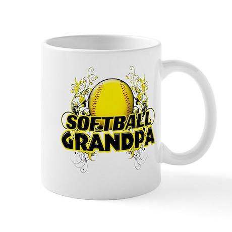 Softball Grandpa (cross).png Mug