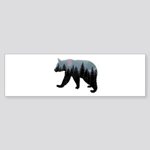 CLOUD BEAR Bumper Sticker