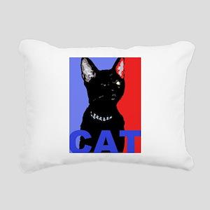 1 CATbr Rectangular Canvas Pillow