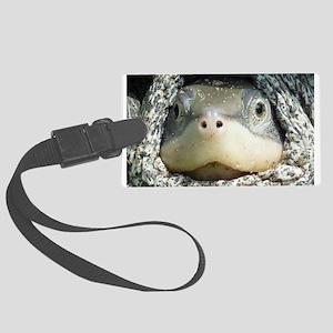 Diamondback Terrapin turtle Large Luggage Tag