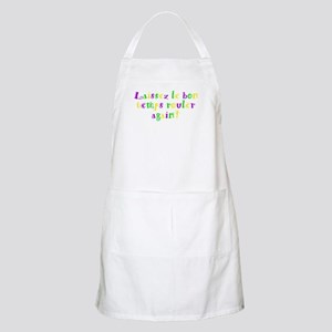 Let the good times roll BBQ Apron