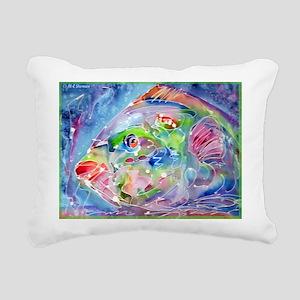 Tropical Fish! Colorful art! Rectangular Canvas Pi