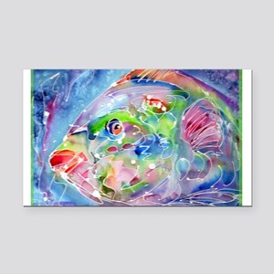 Tropical Fish! Colorful art! Rectangle Car Magnet