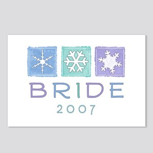 Winter Bride 2007 Postcards (Package of 8)