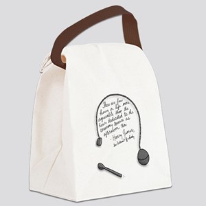 Henry James Canvas Lunch Bag