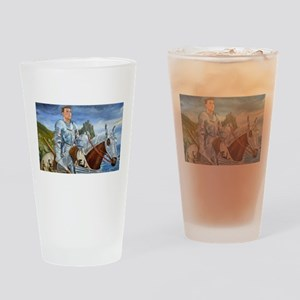 Ride Forth Drinking Glass