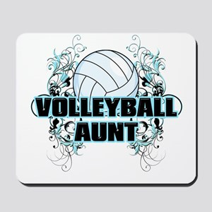 Volleyball Aunt (cross) Mousepad