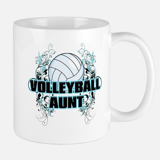 Volleyball Aunt (cross).png Mug