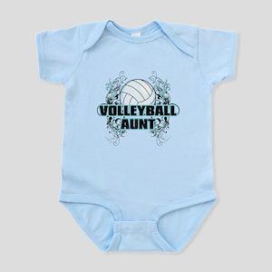 Volleyball Aunt (cross) Infant Bodysuit