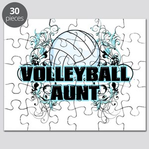 Volleyball Aunt (cross) Puzzle