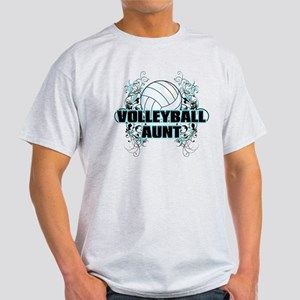 Volleyball Aunt (cross) Light T-Shirt