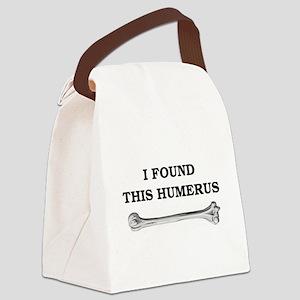 humerus-shirtwhite Canvas Lunch Bag