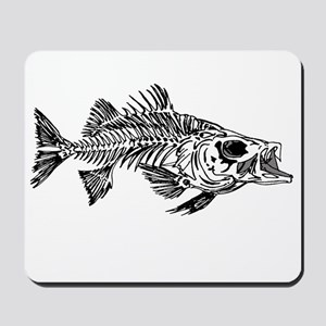 Striped Bass Skeleton Mousepad