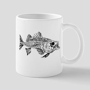 Striped Bass Skeleton Mug