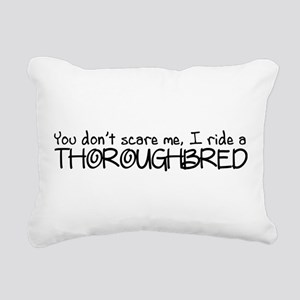 Thoroughbred Rectangular Canvas Pillow