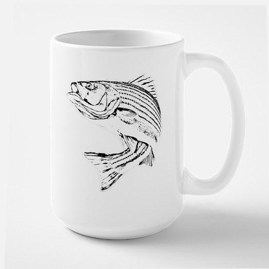 Striped Bass Large Mug