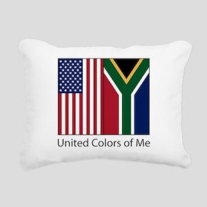 uksame Rectangular Canvas Pillow