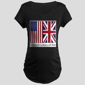 usukme Maternity Dark T-Shirt