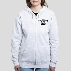 Phi Sigma Rho Athletic Women's Zip Hoodie