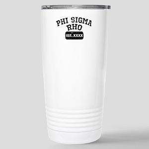 Phi Sigma Rho Ath 16 oz Stainless Steel Travel Mug