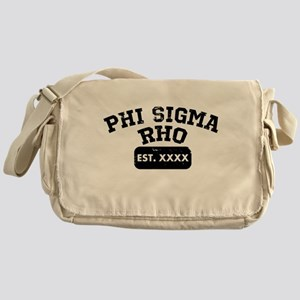 Phi Sigma Rho Athletic Messenger Bag