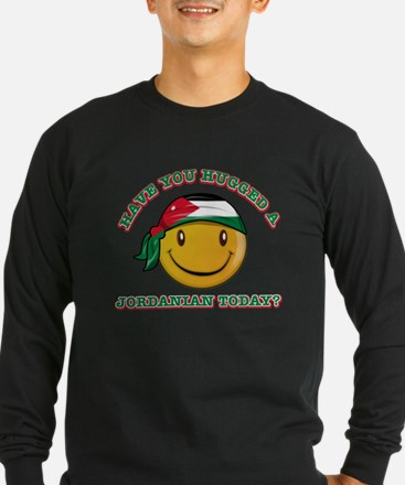 Cute Jordanian Smiley Design T