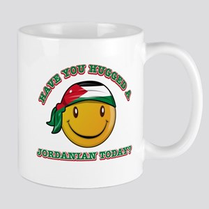 Cute Jordanian Smiley Design Mug