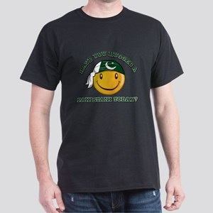 Cute Pakistani Smiley Design Dark T-Shirt