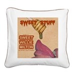 Sweet Stuff Square Canvas Pillow