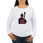 2-Sided Sweet Willie's Women's Long Sleeve T-Shirt