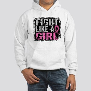 Licensed Fight Like a Girl 31.8 Hooded Sweatshirt